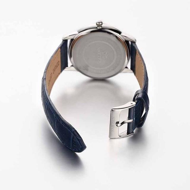 Фото nakzen роскошные кварцевые часы для мужчин кожаные наручные цена