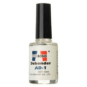 Image 1 - 10ml/bottle False Eyelash Glue Remover Adhesive UV Glue Dispergator Makeup Remove Tools Remove Extension Lashes Gentle on Skin