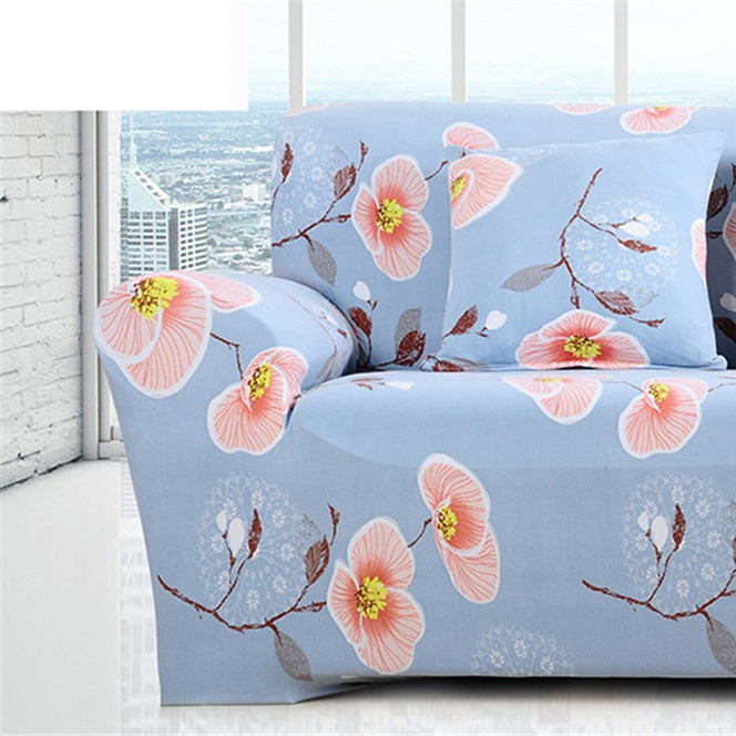 Image 3 - Simple Sofa Cover Elastic For Living Room Printed Cover For Sofa Slipcovers Stretch 1/2/3/4 SeatSofa Cover