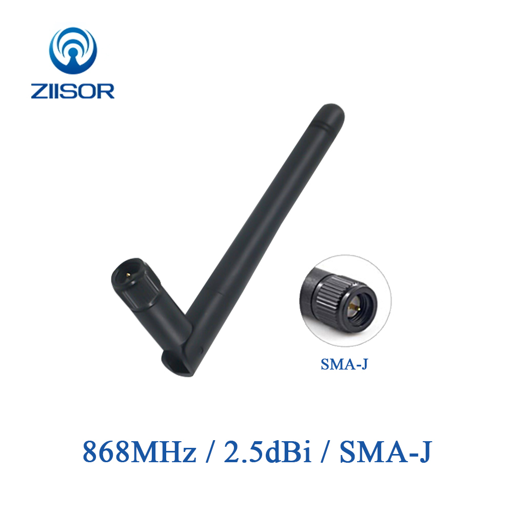4pcs <font><b>868MHz</b></font> <font><b>915MHz</b></font> <font><b>Antenna</b></font> Lora Router Wifi Extender Omni <font><b>Antennas</b></font> SMA Male Long Rang for Repeater WLAN Aerial TX868-JK-11 image