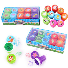 Drawing-Toys Girl Self-Ink-Stamps Event-Supplies Kids for Birthday-Party-Toys Boy 10pcs