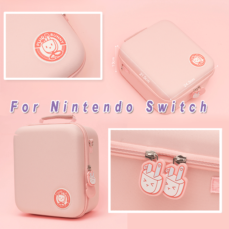 For Nintendo Switch Storage Max Bag Nintend Switch Game Console Full Set Accessories Bag NS Console Portable Protect Hard Case