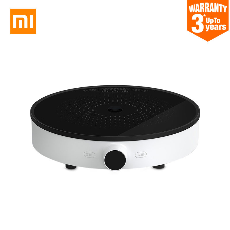 Original Mijia Xiaomi Induction Cooker Mi Home Induction Plate Cooker Round 220V 2100W Creative Precise Control Heating DCL01CM