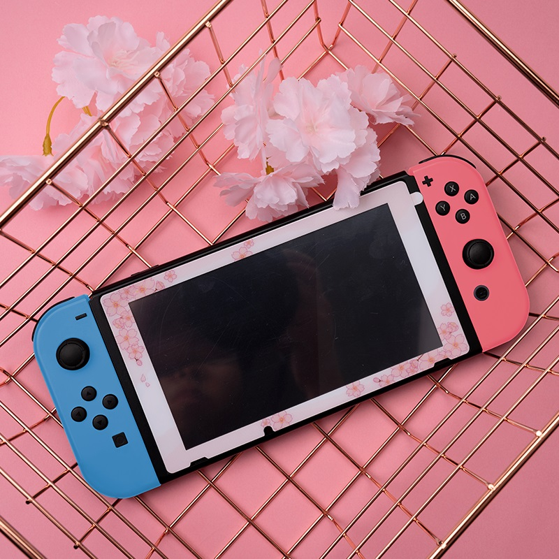 Tempered Glass Screen Protector For Nintendo Switch NS Animal Pink Screen Film For Nintend Switch Accessories
