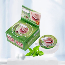 25g 10g Thailand Herbal Toothpaste Clove Mint Coconut Taste Teeth Whitening Powder Oral Plaque Removal Dentifrice Antibacterial
