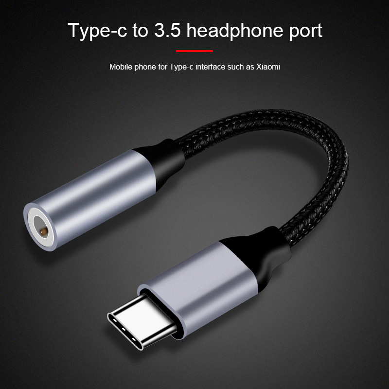 USB Type C Audio Adapter USB C Male to Female Jack 3.5mm Earphone Adapter Aux Cable For Samusng Huawei Xiaomi 3.5 Jack Converter