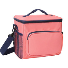 Fashion outdoor picnic insulated cooler lunch bag meal prep bag