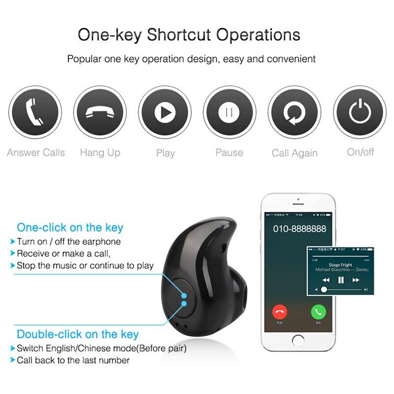 Новинка 2020, миниатюрные беспроводные наушники-вкладыши, гарнитура Hands Free, наушники-вкладыши Blutooth Stereo, наушники с басами, Bluetooth-гарнитура