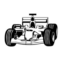 Living Room Vinyl Racing Automobile Wall Decal Hot Selling Art Design Removable Bedroom  Home Decoration Waterproof Sticker W707