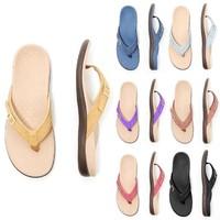 2020 Beach Flip Flops Women Sandals Summer Ladies Slippers Cool Women Shoes Street Sandals Women Flat Flip Flops For Girls