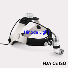 LED 3W AC/DC Oral Dental ENT Examination Surgery Medical Head Light Lamp Headlight Headlamp Cosmetic Pets Beauty KD-202A