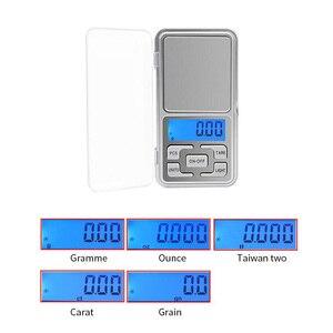 Image 4 - LED Digital Pocket Waagen 100g 200g 500g 0,01/0,1g küche Skala Precision Gramm Gewicht Elektronische balance Labor Skala