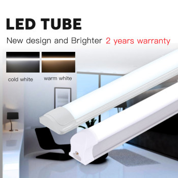 guxen 4ft led tubes 22w 28w t8 led tube lamp 1200mm ac90 260v single double row 2835 led lamp 2 years warranty ce rohs T5 LED Tube Light T8 Lamp Bar 120cm 1200mm 220V 10W 20W 40W Leds Tubes Wall Lights 2FT 4FT 60cm For Home Indoor Kitchen Lighting