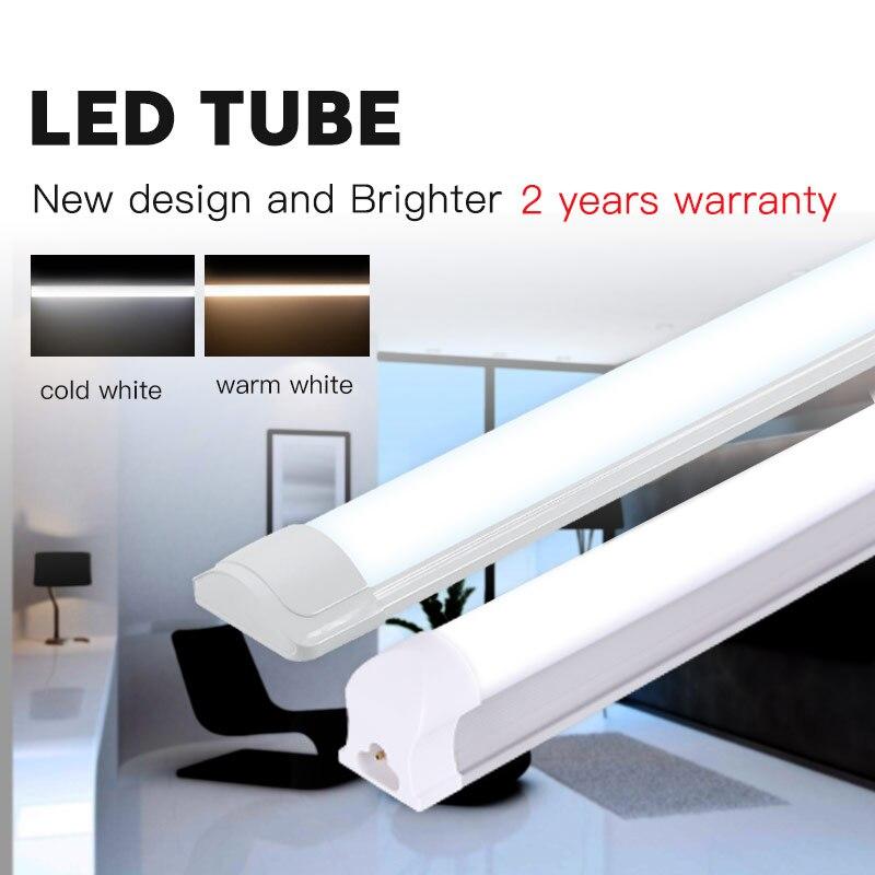 T5 LED T8 โคมไฟ 120 ซม.1200 มม.220 V 10W 20W 40W LEDs หลอดไฟ 2FT 4FT 60 ซม.ภายในบ้านห้องครัว