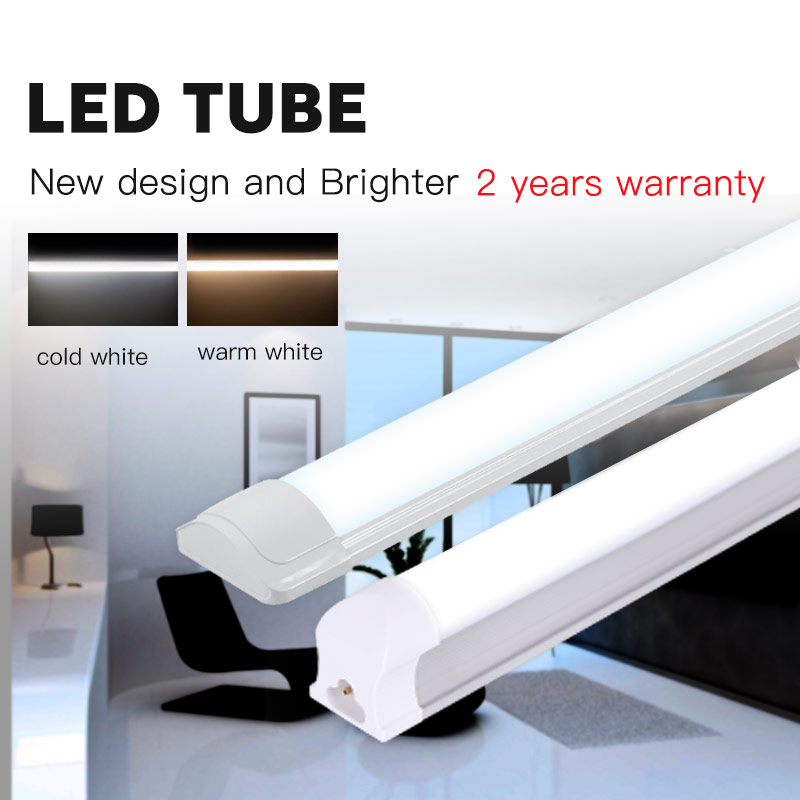T5 <font><b>LED</b></font> Tube Light T8 <font><b>Lamp</b></font> Bar 120cm 1200mm 220V 10W <font><b>20W</b></font> 40W <font><b>Leds</b></font> Tubes Wall Lights 2FT 4FT 60cm For Home Indoor Kitchen Lighting image