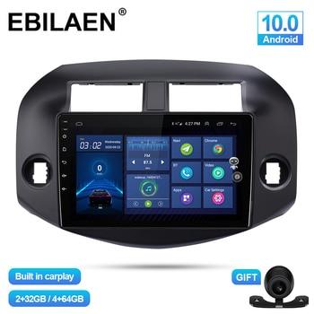 Android 10.0 Car Multimedia Player For Toyota RAV4 RAV 4 2007-2010 Autoradio GPS Navigation Camera WIFI IPS Screen Stereo RDS автомобильный dvd плеер joyous kd 7 800 480 2 din 4 4 gps navi toyota rav4 4 4 dvd dual core rds wifi 3g