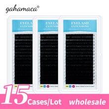 Оптовая продажа индивидуальные ресницы для макияжа gahamaca