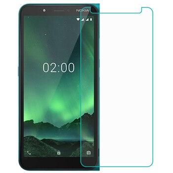 Перейти на Алиэкспресс и купить Смартфон 9H закаленное стекло для Nokia C2 2020 стеклянная Защитная пленка для Nokia C2 Защитная крышка для экрана