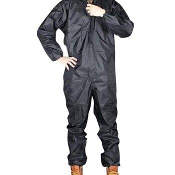 Chubasquero para motocicleta a la moda/chubasquero UNIDO/monos para hombre y mujer, chubasquero fisión, chubasquero, tamaño 4XL, negro
