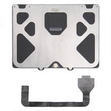Ordinateur câble manager tablette partie argent Trackpad pour Macbook Pro A1286 2009 2010 2011 2012 + câble plat ordinateur interne(China)
