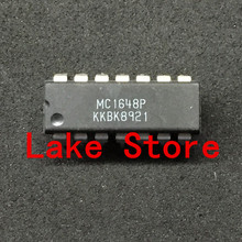 10 unids/lote MC1648P MC1648 DIP