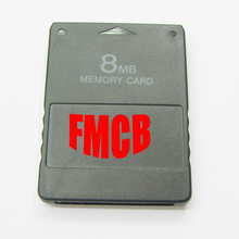 10pcs  8MB 16MB 32MB  64MB Memory Card for  FMCB Free McBoot Card v1.953 for  PS2  for Playstation2