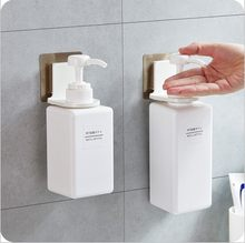 Home Creative Bathroom Toilet Bath Liquid Rack Punch-free Powerful Body Wash Shampoo Storage Rack Bathroom Organizer(China)