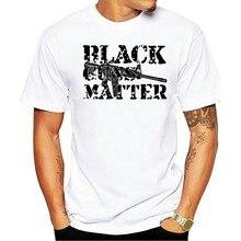 2021 Leisure Fashion 100% Cotton T-shirtHot Sale Black Guns Matter 2nd Amendment Gun Rights Control AR-15 Men's 1365