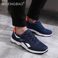 Autumn Men Shoes Mesh Outdoor Sports Shoes Lightweight Sneakers Male Athletic Training Footwear Homme Chaussure Sport цена 2017