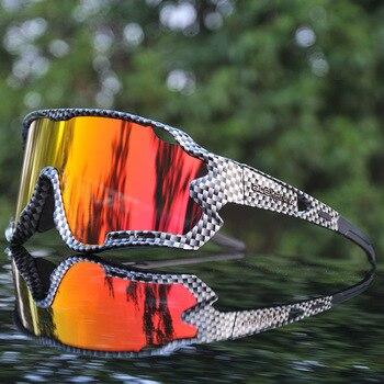 4 lente uv400 ciclismo óculos de sol polarizados ciclismo óculos para óculos de bicicleta óculos de ciclismo lentes do esporte 1