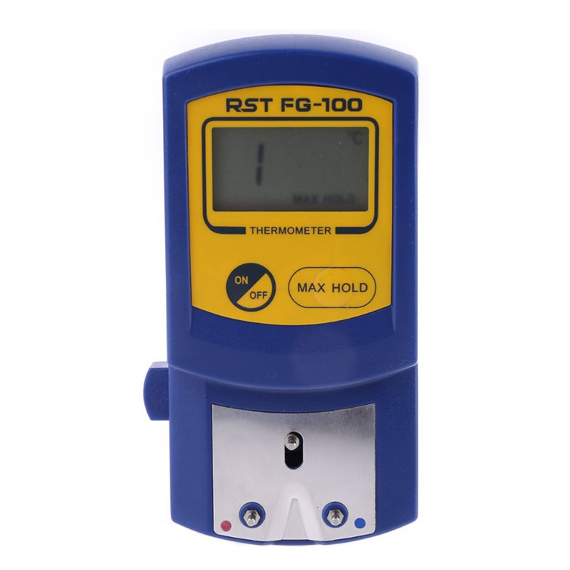 Soldering Iron Tip Temperature Meter <font><b>FG</b></font>-<font><b>100</b></font> <font><b>Thermometer</b></font> for Welding Soldering image