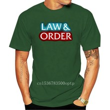 Limited New Law And Order T-Shirt Size S-5XL