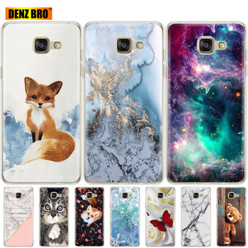 soft Silicone Case For Samsung Galaxy A5 2016 Cases Cover A510F A510 Phone Back Protective FOR Capa Samsung A5 2016 Case new