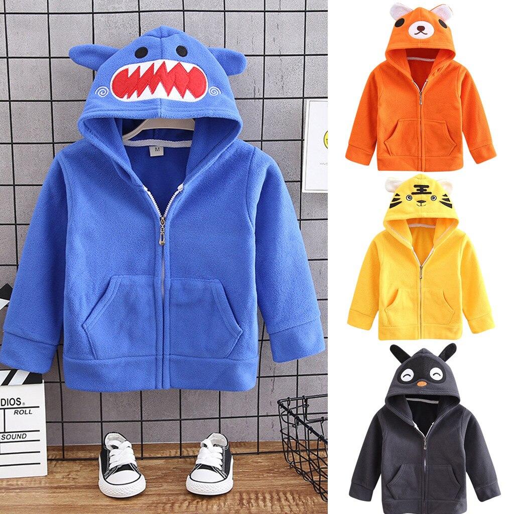 Kids Baby Girls Boys Cartoon 3D Digtal Print Pullover Hoodie Sweatshirt Casual Hooded Tops Baseball Shirts Pocket
