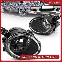 AUTO Stoßstange Nebel Licht lampe Zubehör carstyling für BMW E46 3 Serie 2001 2005 M3 1999 2002 E39 m5