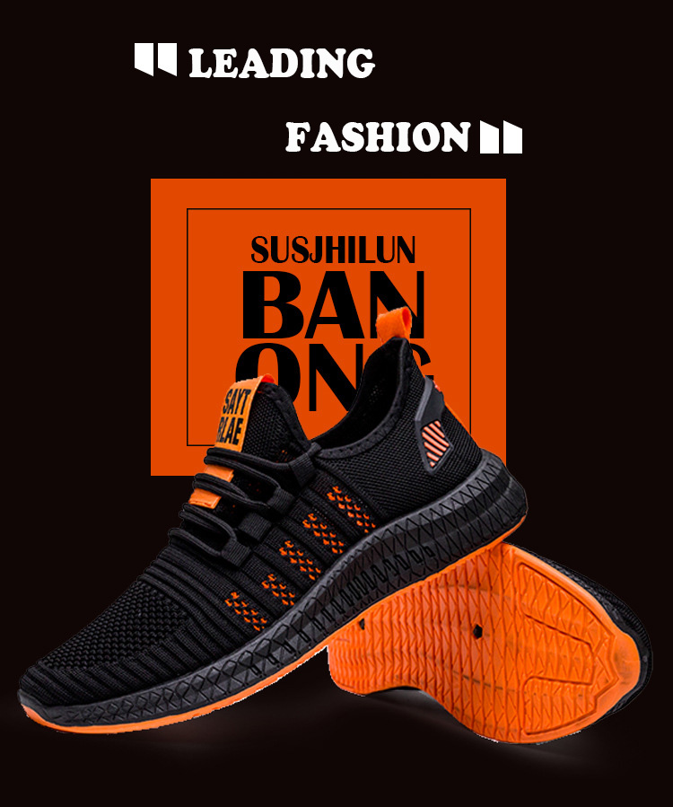 H96404b668e0b4302b3a89c9dc6092464f 2019 New Mesh Men Sneakers Casual Shoes Lac-up Men Shoes Lightweight Comfortable Breathable Walking Sneakers Zapatillas Hombre