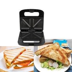 750W gospodarstwa domowego elektryczny opiekacz do kanapek automatyczne śniadanie gofrownica narzędzie kuchenne urządzenie do gotowania chleba ue wtyczka|Urządzenia śniadaniowe 3 w 1|   -