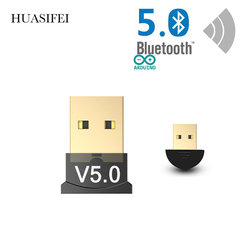 HUASIFEI Usb Bluetooth Receiver 5 Dongle Adapter modulator Wireless Aux bluetooth adapter For computer PC Laptop Car accessories