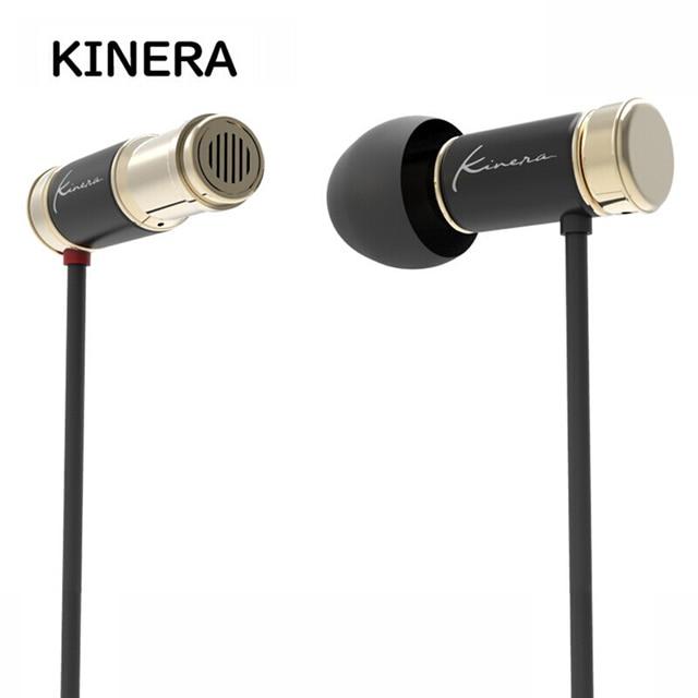 KINERA TYR 6mm Dynamic Driver Unit Mini Metal In Ear Earphone 3.5mm With Mic Wired  Earbuds DJ Running Bass HIFI Monitor IEM