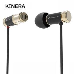 Image 1 - KINERA TYR 6mm unité de pilote dynamique Mini métal dans loreille écouteurs 3.5mm avec micro filaire écouteurs DJ en cours dexécution basse HIFI moniteur IEM