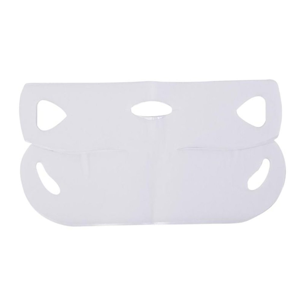 1Pcs 4D V-Shaped Face Gel Mask Tension Firming Mask Face Slimming Lifting Thin Mask Beauty Face Care Tool