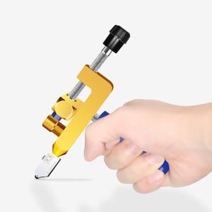 Image 4 - קרמיקה אריחי זכוכית חיתוך חותך מקשה אחת נייד רב תכליתי כלי