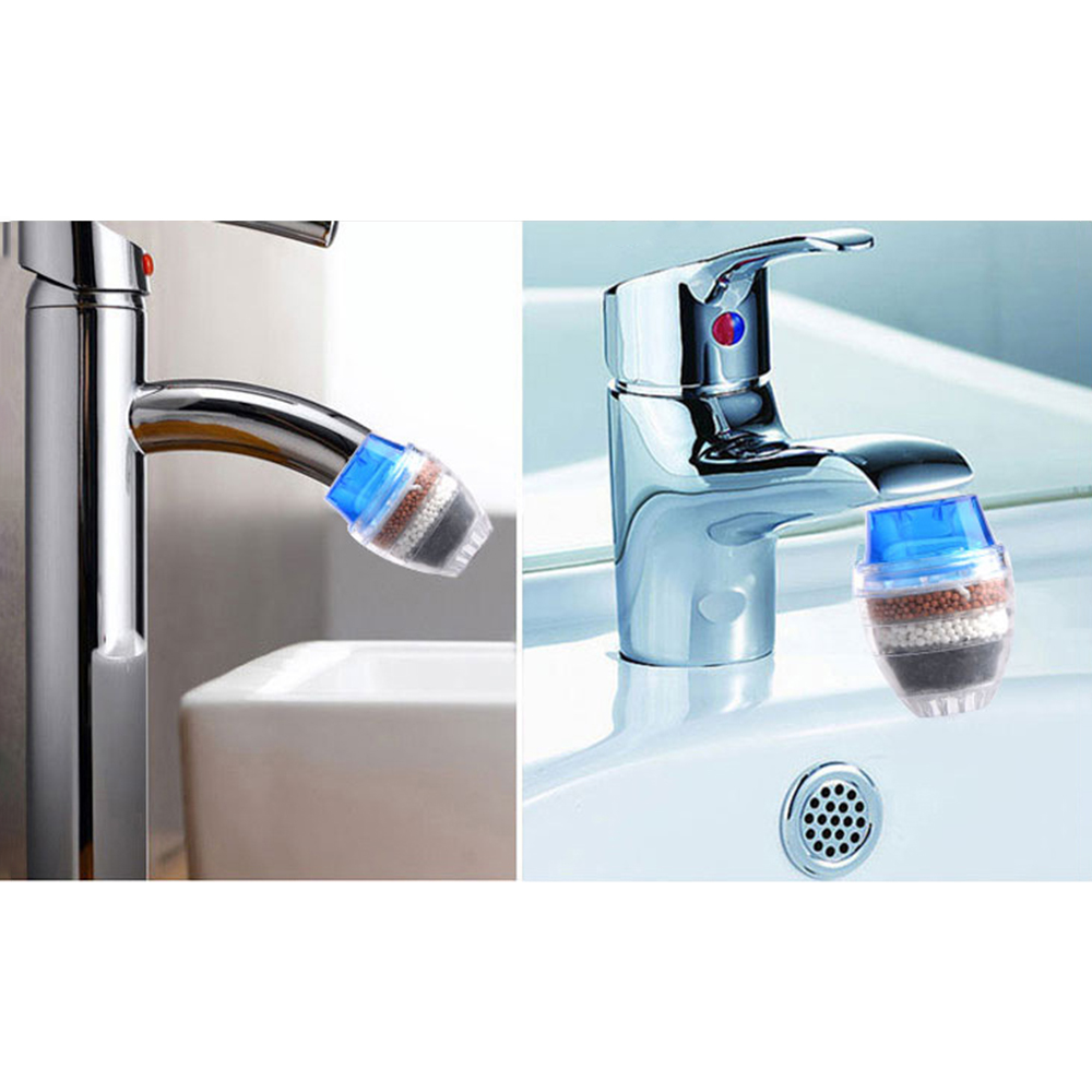 Tap Purifier Remove Rust Suspended Kitchen Water Cleaner Water Filtration System Faucet Water Filter Household Accessories
