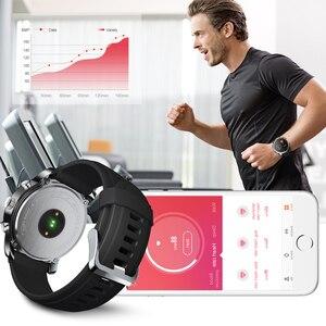 Image 2 - SYSOTORYU T3pro montre intelligente double fuseau horaire Sport hommes étanche Smartwatch fréquence cardiaque Bluetooth traqueur dactivité pour IOS Android