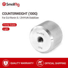 SmallRig karşı ağırlık (100g) plaka ile 1/4 diş delik DJI Ronin için S ve Zhiyun Gimbal sabitleyici 2284