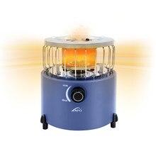 Portátil 2 em 1 fogão de acampamento aquecedor a gás aquecedor ao ar livre propano butano tenda aquecedor sistema de cozinha