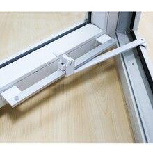 Ветряные брекеты сверхмощные крепления пластиковые стальные ПВХ окна поддержка ограничитель фиксатор Телескопический ветер поддержка окна ограничитель