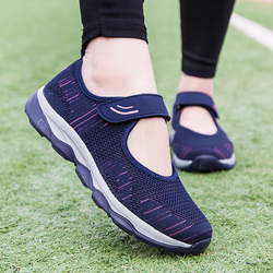 New Spring Autumn Fashion Women Platform Shoes Flat Woman Shoes Woman Breathable Mesh Casual Sneakers Zapatos De Mujer