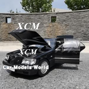 Image 3 - Döküm Görev Model Araba Modeli için S600 (Siyah) 1:18 + KÜÇÜK HEDIYE!!!!