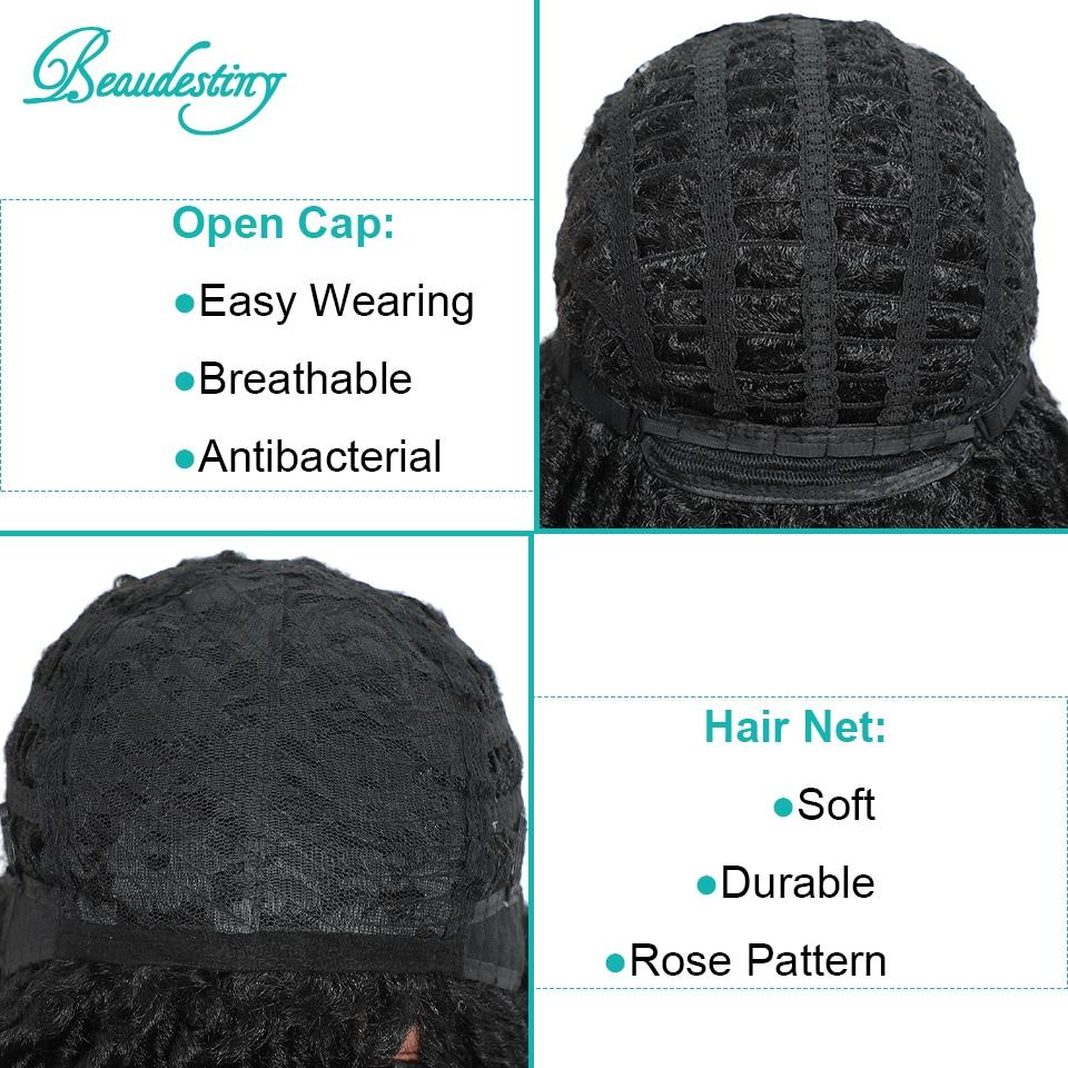 Beaudestiny cabelo sintético fake locs dreadlocks perucas